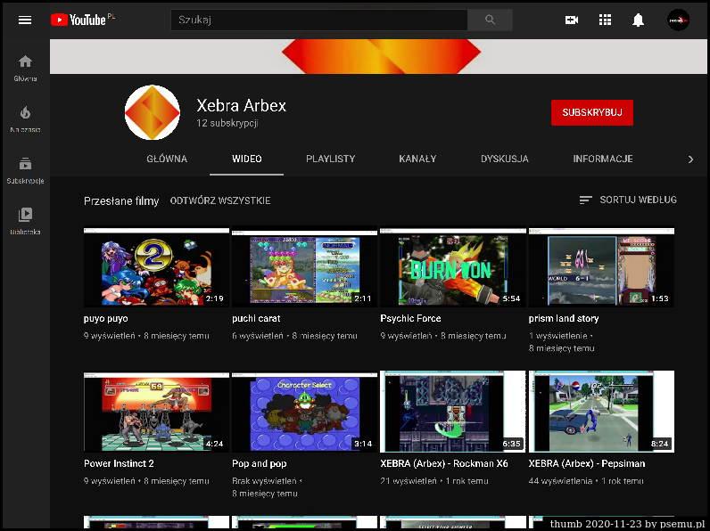 Xebra YouTube
