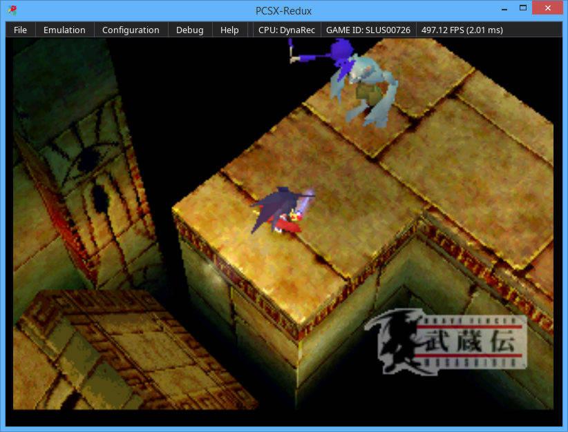 PCSX-Redux emulator