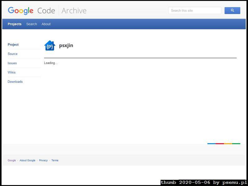 psxjin Homepage