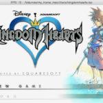 DobieStation emulator running Kingdom Hearts