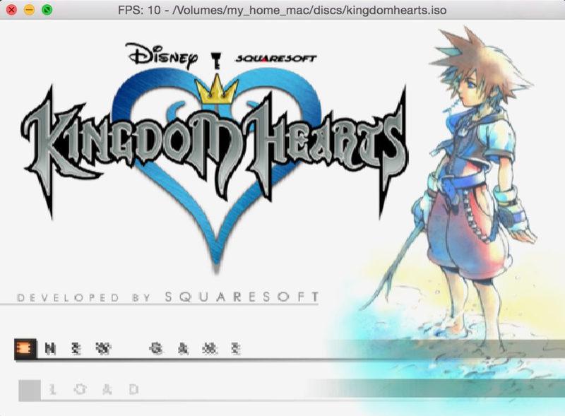 DobieStation PS2 emulator running Kingdom Hearts