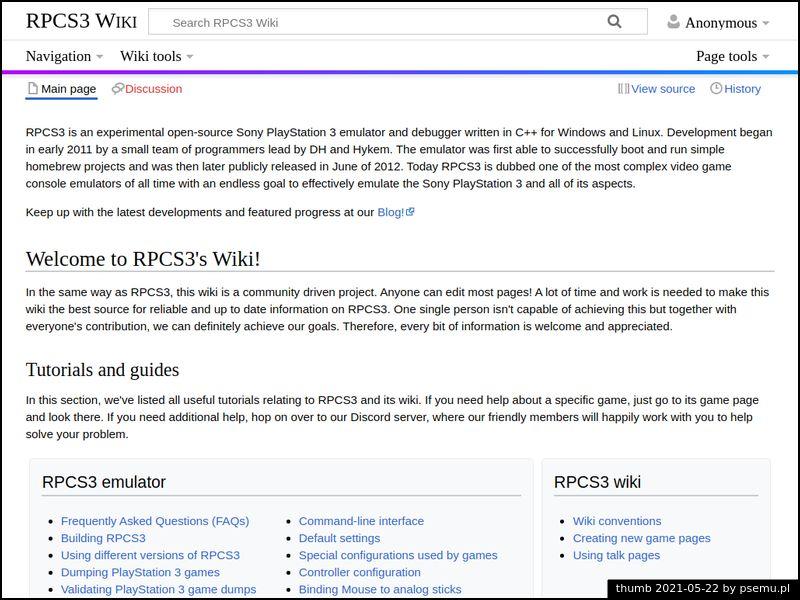 RPCS3 Wiki