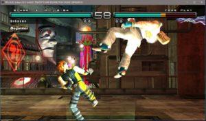 PS3 emulator running game #037