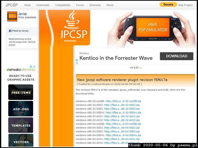 JPCSP Homepage