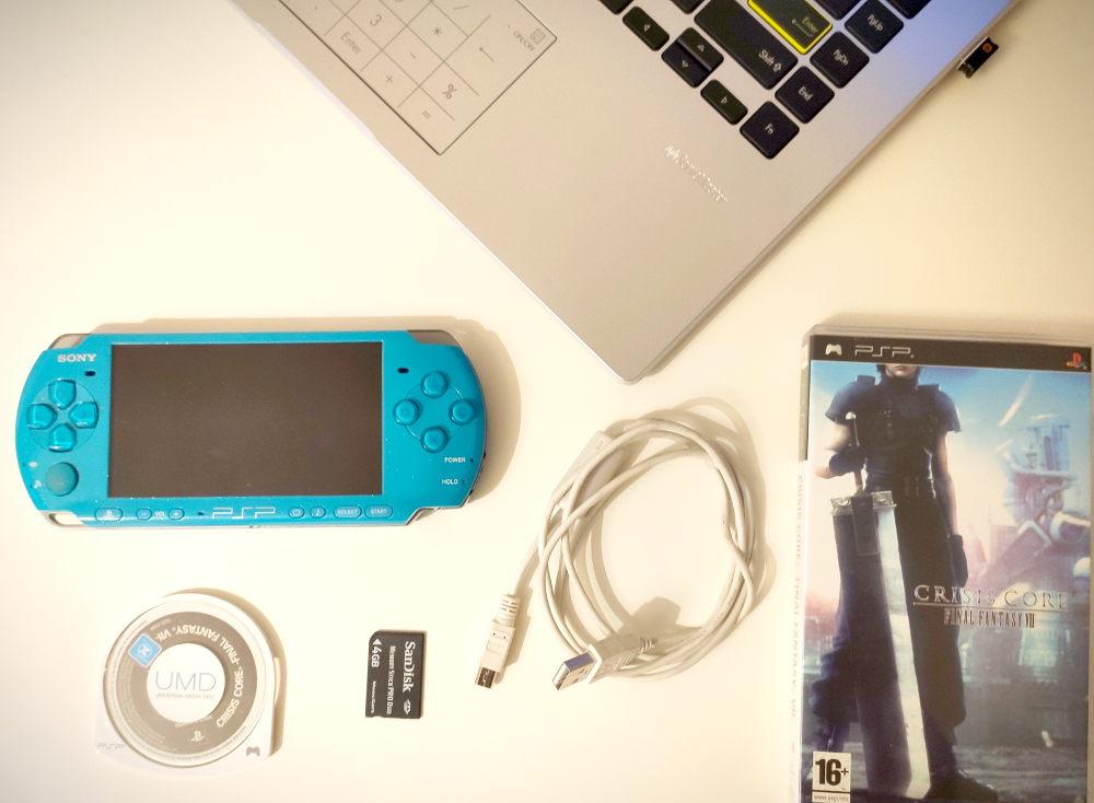 PSP backup ISO