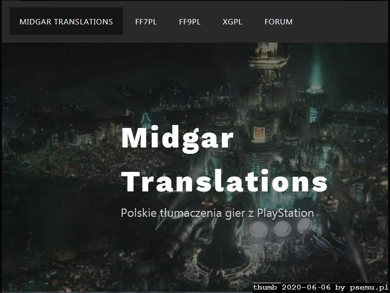 midgar translations preview